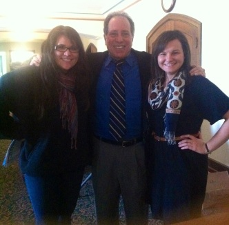 Morgan and I with Professor Kimmel.